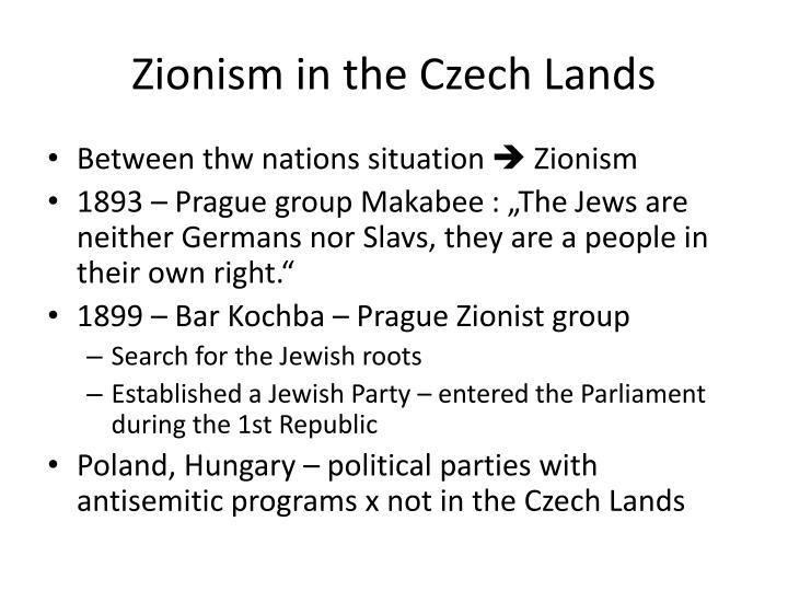 Zionism in the Czech Lands