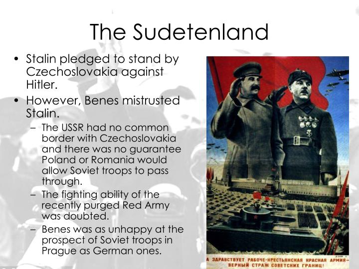the sudetenland essay