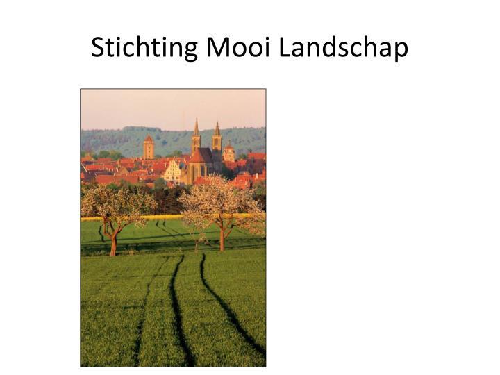 Stichting Mooi Landschap