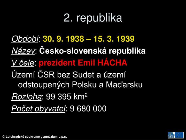 2. republika
