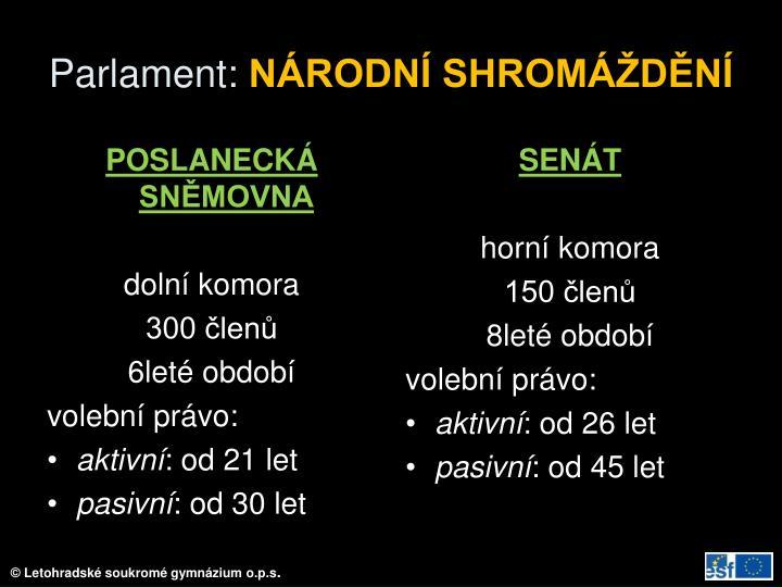 Parlament: