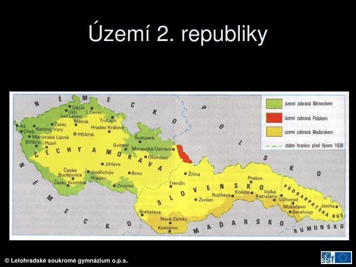 Území 2. republiky