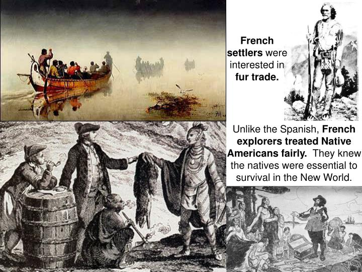 French settlers