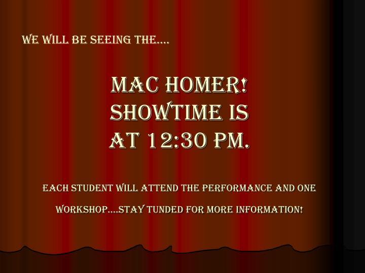Mac homer!