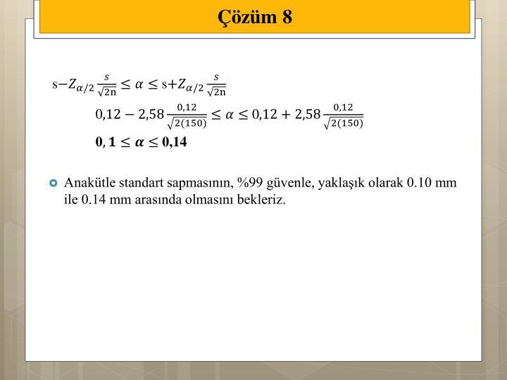 Çözüm 8