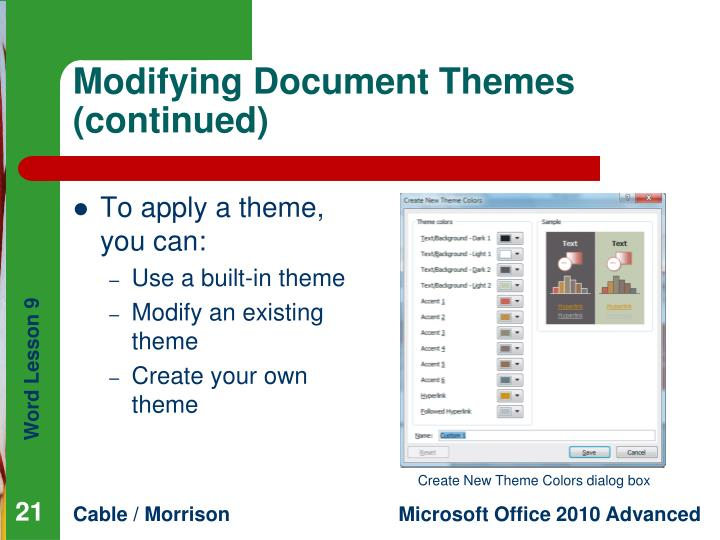 Modifying Document