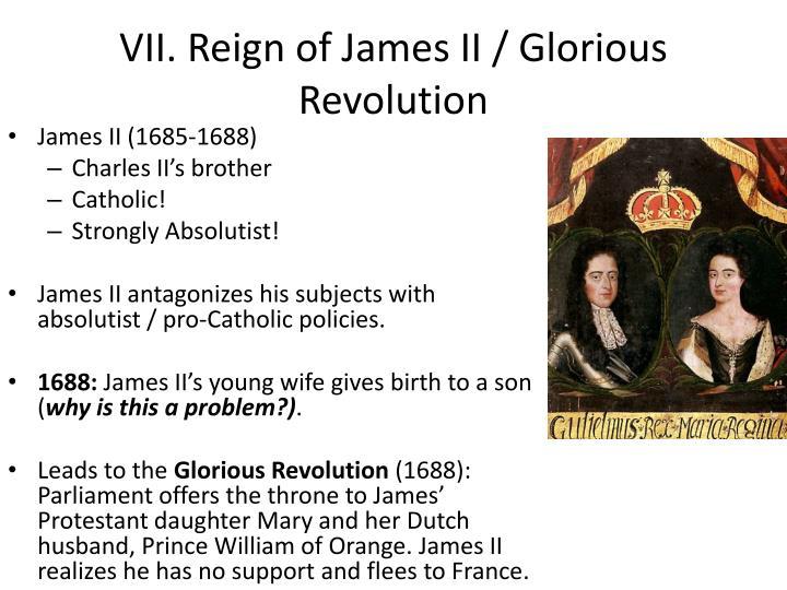VII. Reign