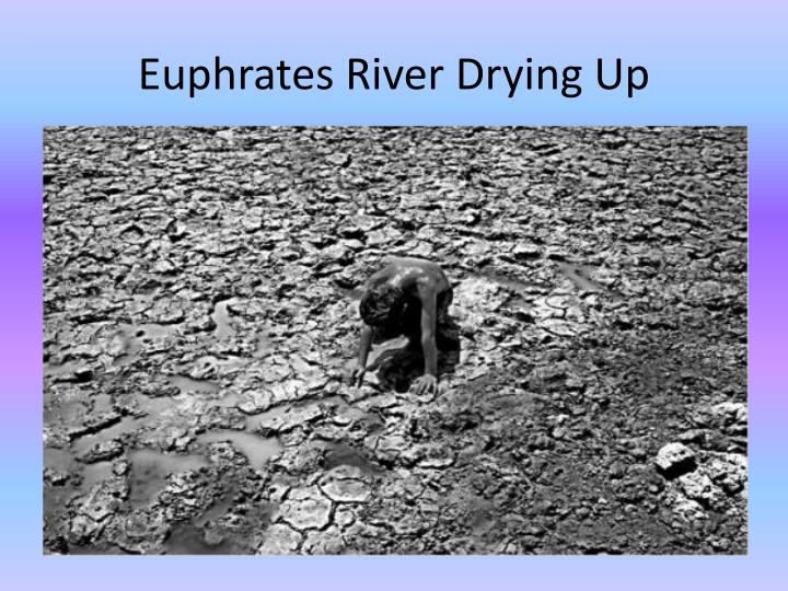 Euphrates River Drying Up