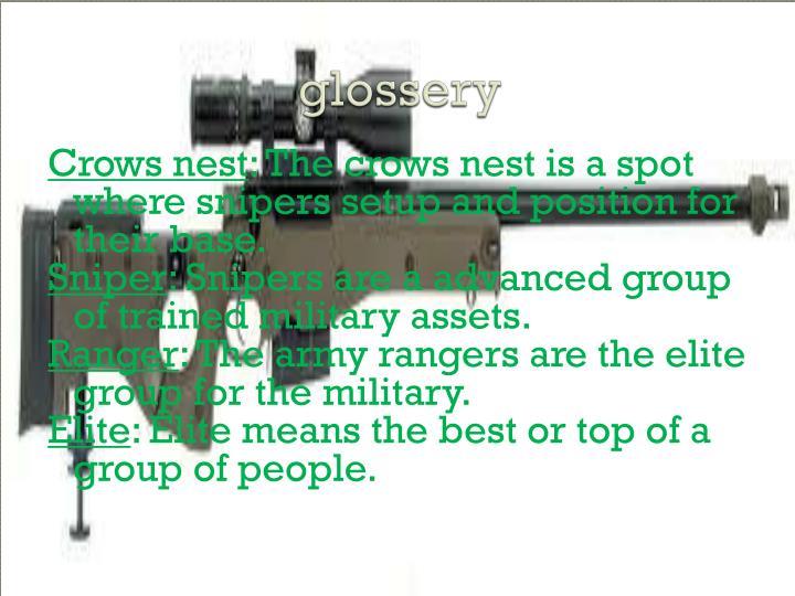 glossery