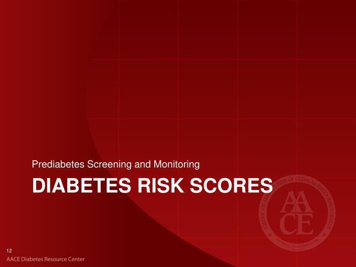 Prediabetes Screening and Monitoring