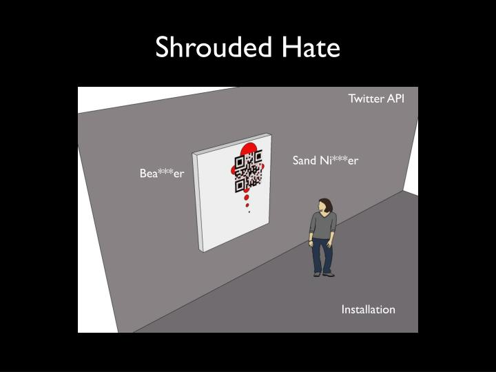 Shrouded hate1