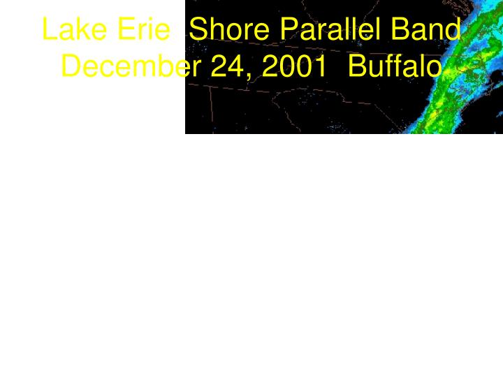 Lake Erie  Shore Parallel Band