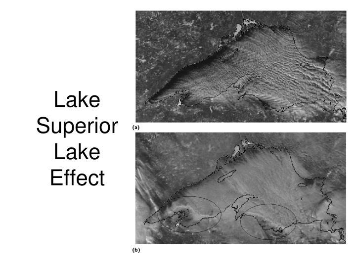 Lake Superior Lake Effect