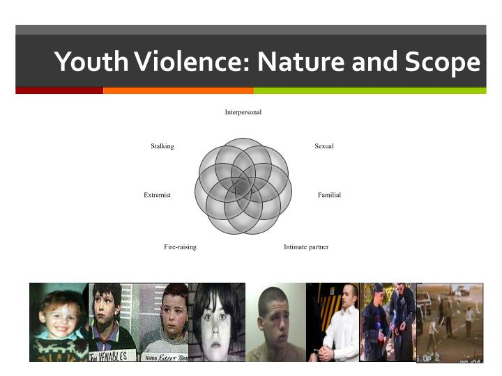 Youth violence nature and scope