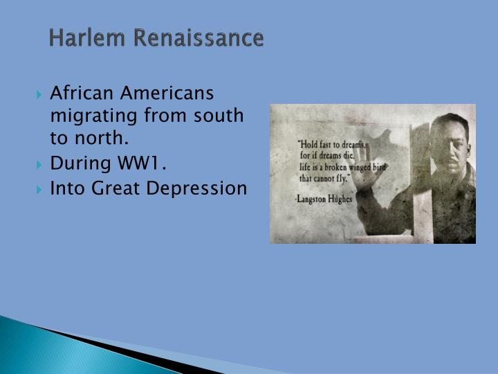 harlem renaissance powerpoint presentation