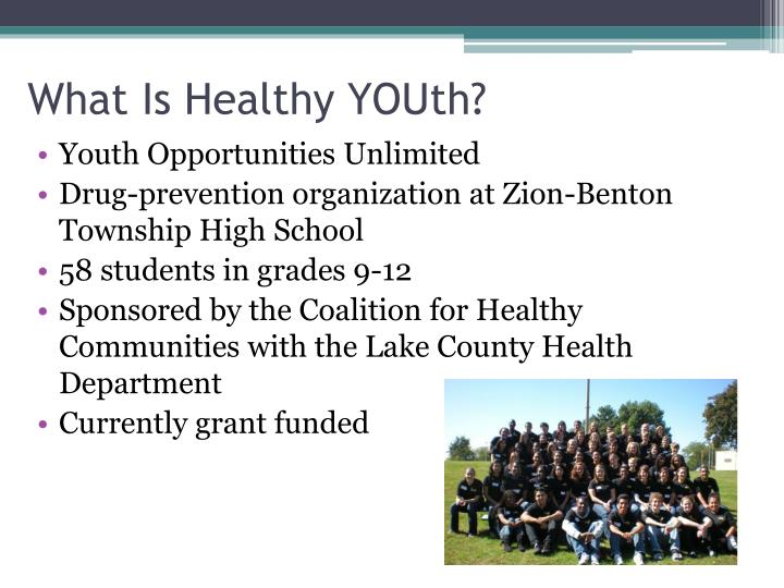 What is healthy youth