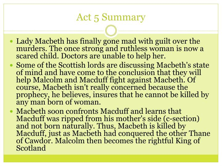 malcolm describes macbeth and lady macbeth essay Lady macbeth did not have to call upon evil spirits if she was a noble woman and therefore would not have taken part in the murder as soon as we start to read the play, we learn that macbeth has earned himself a honourable reputation, and is described by king duncan as a 'valiant cousin.