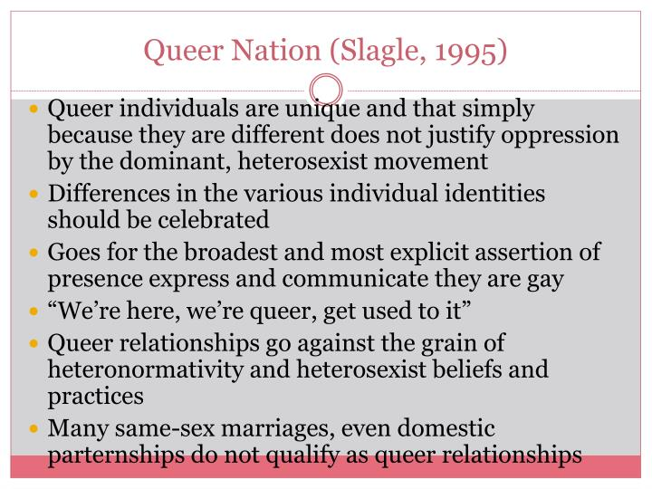 Queer Nation (Slagle, 1995)