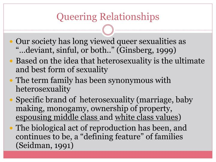 Queering Relationships