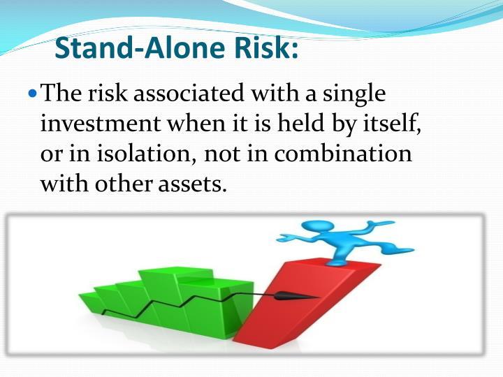 Stand-Alone Risk: