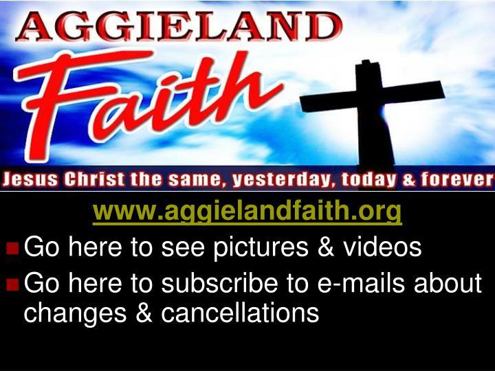 www.aggielandfaith.org
