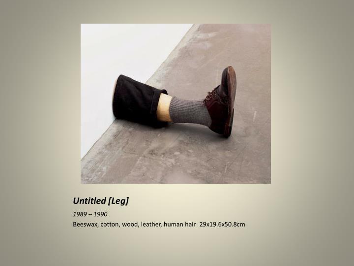 Untitled [Leg]