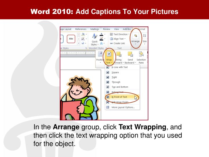 Word 2010: