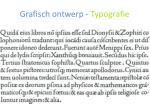 grafisch ontwerp typografie