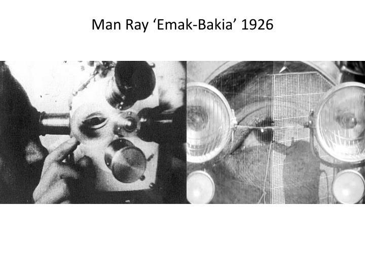 Man Ray '