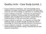 quality circle case study contd1