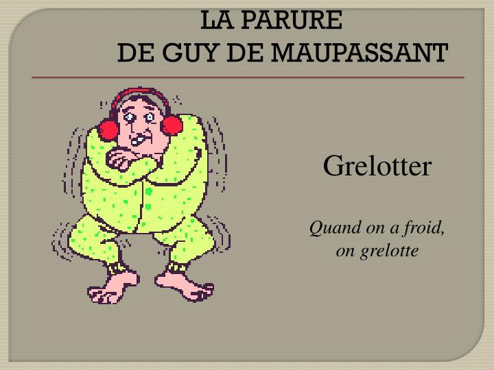 Grelotter