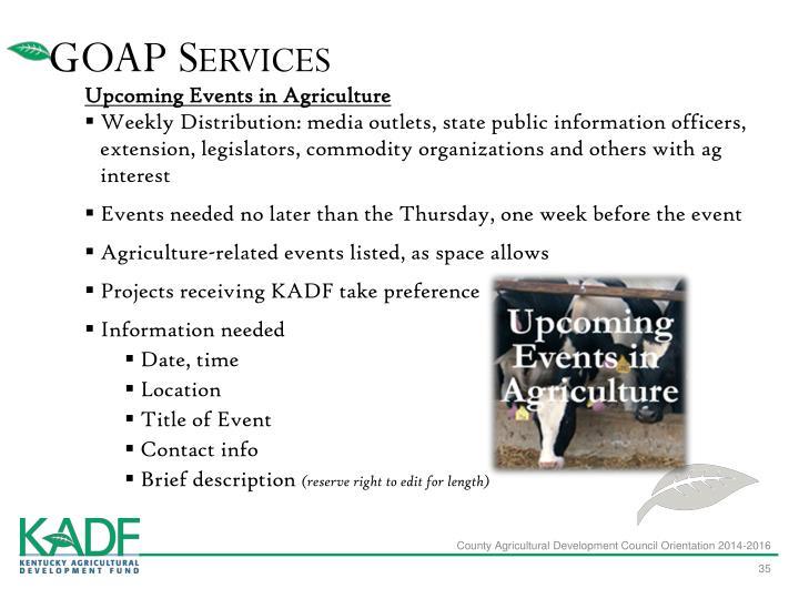 GOAP Services