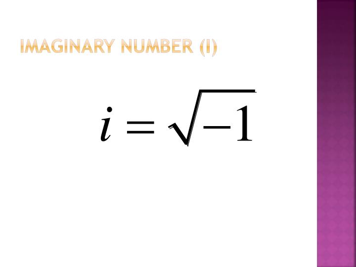 Imaginary Number (