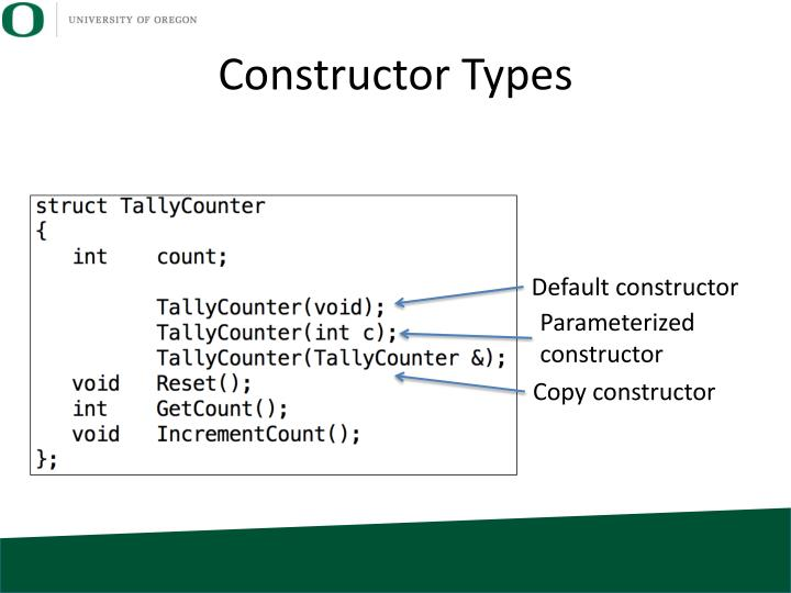 Constructor Types