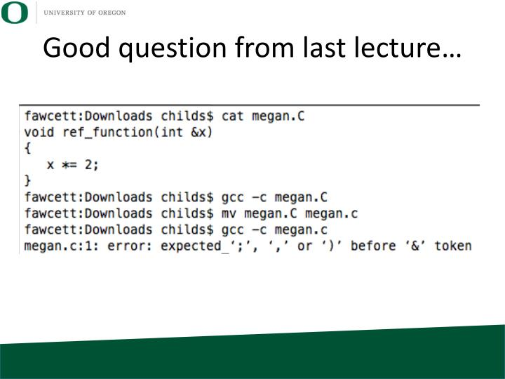 Good question from last lecture…