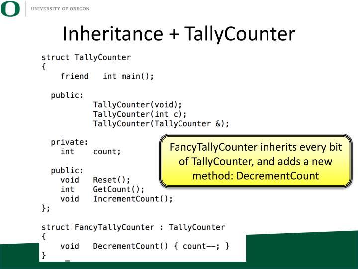 Inheritance +