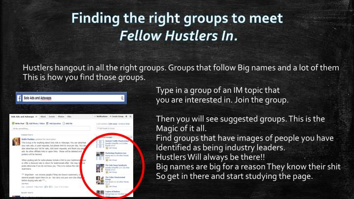 Finding the right groups to meet