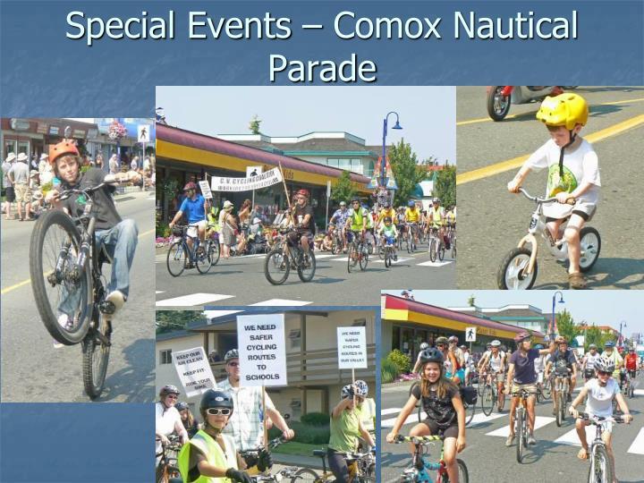 Special Events – Comox Nautical Parade