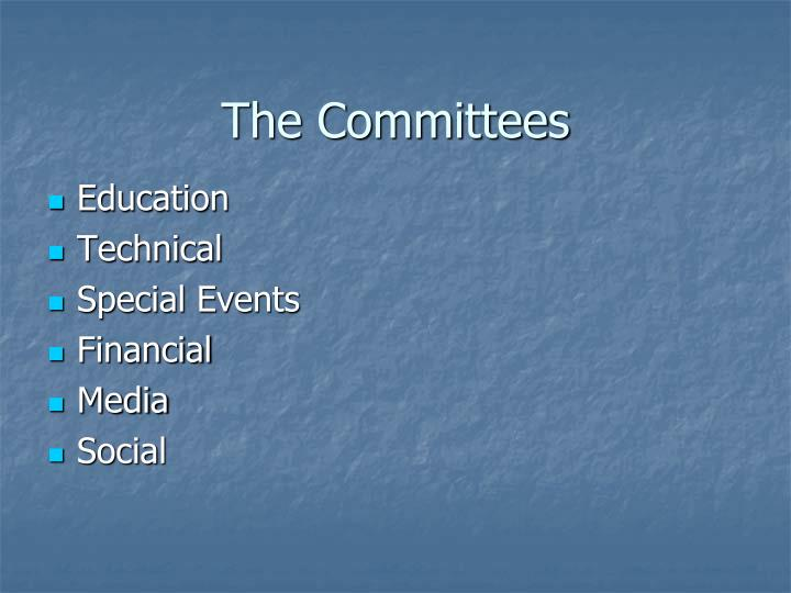 The Committees