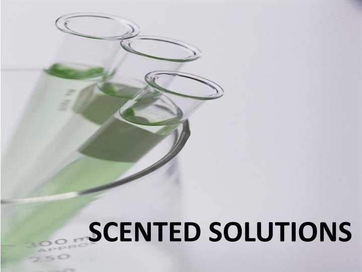 SCENTED SOLUTIONS