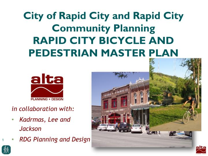 City of rapid city and rapid city community planning rapid city bicycle and pedestrian master plan