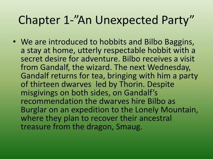 a summary of the hobbit
