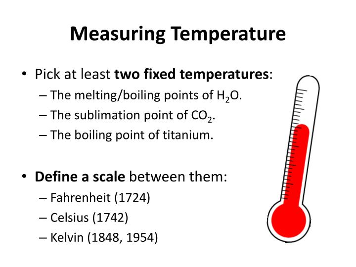 Measuring Temperature