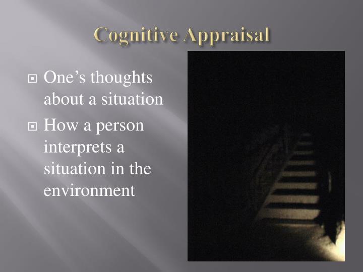 Cognitive Appraisal