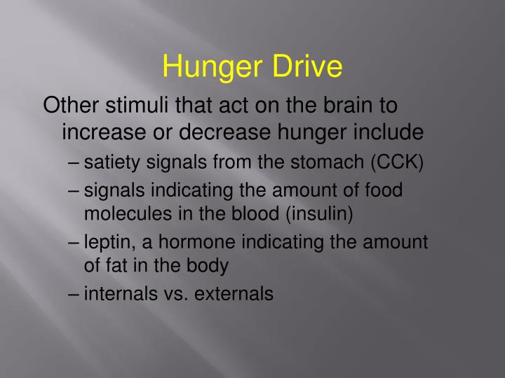 Hunger Drive