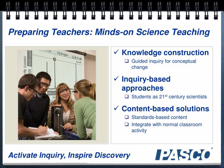 Preparing Teachers: Minds-on Science Teaching