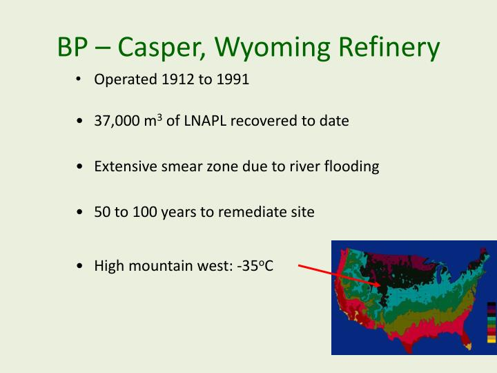 BP – Casper, Wyoming Refinery