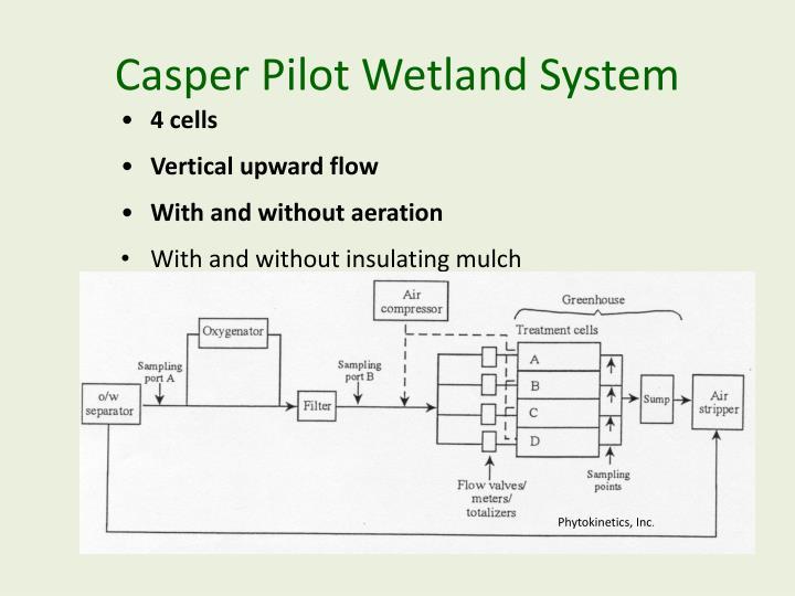 Casper Pilot Wetland System