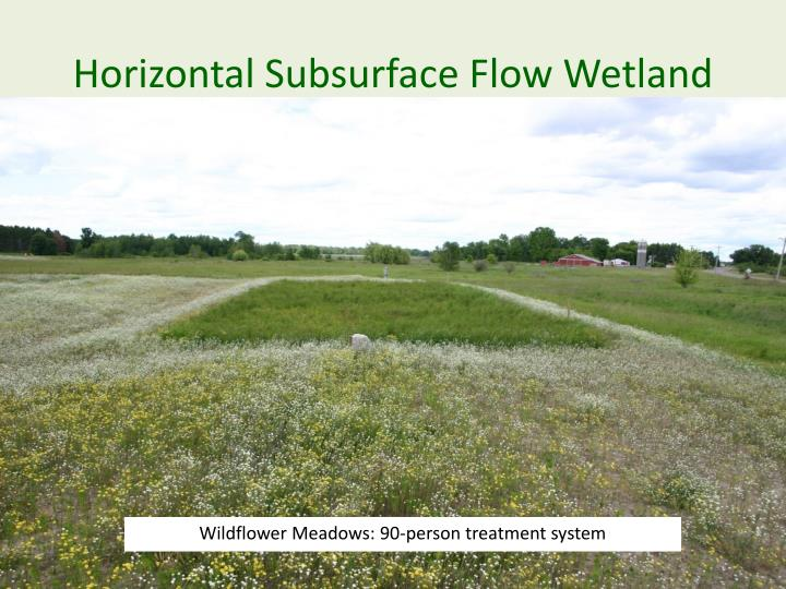 Horizontal Subsurface Flow Wetland