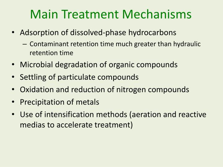 Main Treatment Mechanisms